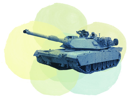 image of a battle tank