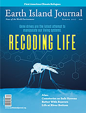 thumbnail of the cover of the Earth Island Journal