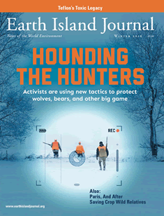 cover, Winter 2016 Earth Island Journal