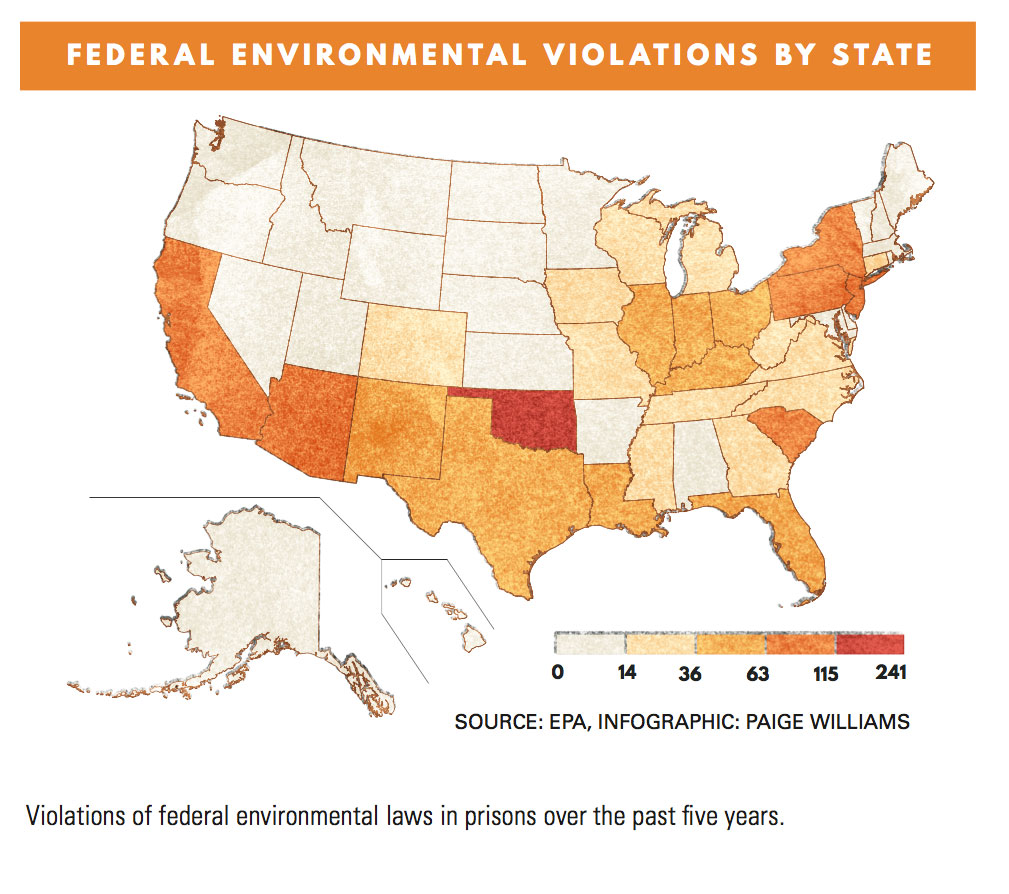 America's Toxic Prisons   Earth Island Journal   Earth Island Institute